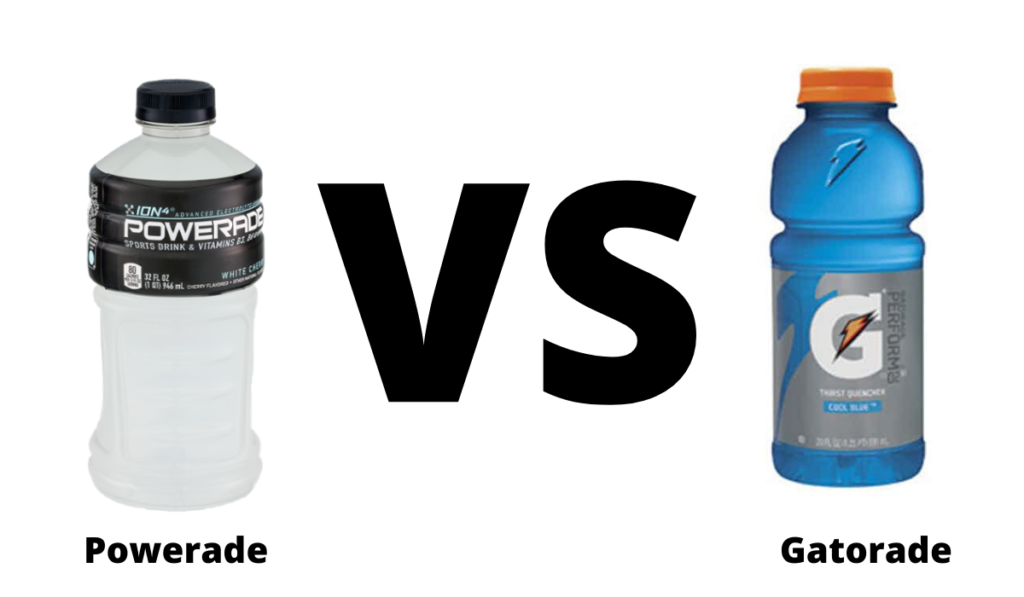 Powerade VS Gatorade